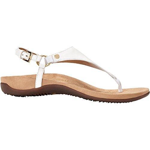 fb2d36f5033 Galleon - Vionic Women s Kirra Backstrap Sandal White 6 M