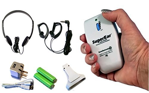 Sonic Technology SuperEar Rechargeable Sound Amplifier Co...