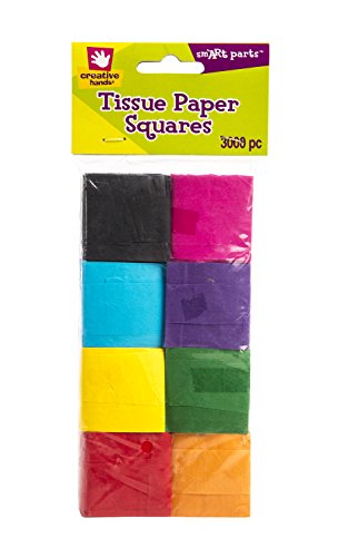 Fiber Craft Tissue Paper Pack, Multi Colored (Yellow Paper Mache)