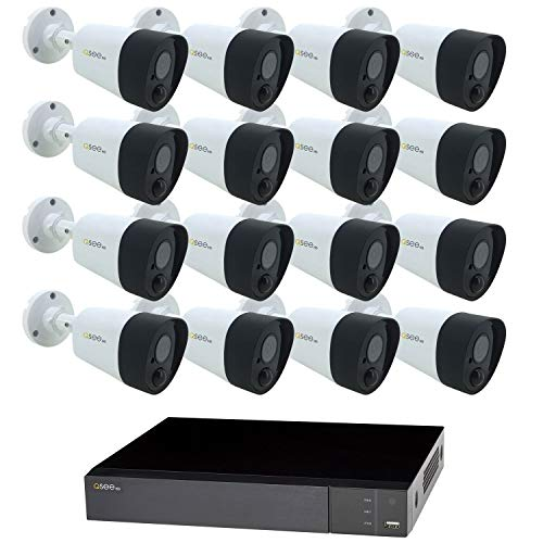 - Q-See 16-Channel 5MP DVR Surveillance System with 2TB Hard Drive, 16-Camera 5MP