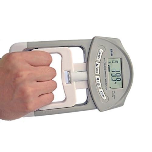200 Lbs / 90 Kgs Main numérique Dynamomètre Grip Auto Capture Poignée D'alimentation pour les Amateurs