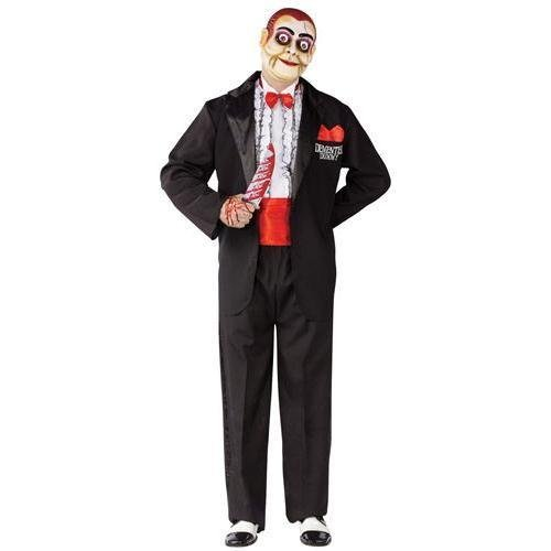 Demented Dummy Ventriloquist Adult Costume - Standard -