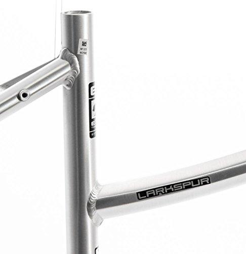 "17"" MARIN LARKSPUR Women's 700C Hybrid City Bike Frame Silver Aluminum NOS NEW"