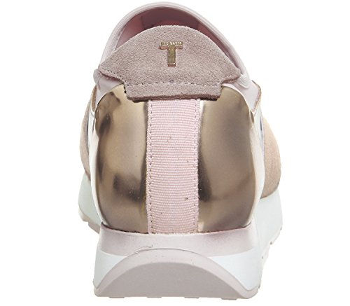 Pink Women''s Kulei Baker Trainers Leather Light Ted gp7qx