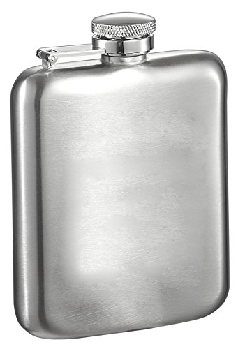 Visol-Podova-Stainless-Steel-Hip-Flask-6-Ounce-Chrome