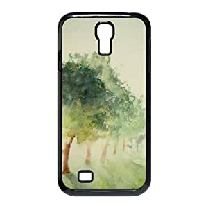 Customized Dual-Protective Case for SamSung Galaxy S5 (picture is Galaxy S4£©, Aqua Story Cover Case
