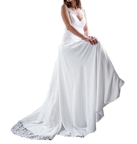 Special Bridal - Vestido de novia - Sin mangas - Mujer Style 1 Ivory