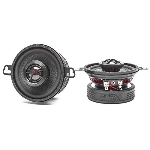 Skar Audio TX35 3.5-Inch 2-Way 120 Watt Coaxial Speakers - Pair 120w Coaxial Speaker