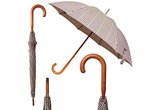 Philadelphia Umbrella (Burgundy Plaid) by Vista International