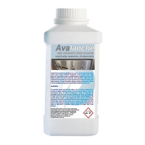 Avalanche - Industrial Gel Oven Cleaner 1000mls Chemiphase