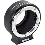 Metabones Nikon G Lens to Fujifilm X-Mount Camera Lens Mount Adapter, Matte Black