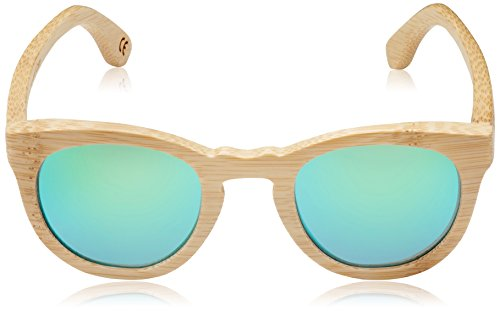 de de Verde Gafas sol Bambú HÄRVIST color unisex Multicolor madera bambú Roundwood awqCpxp74