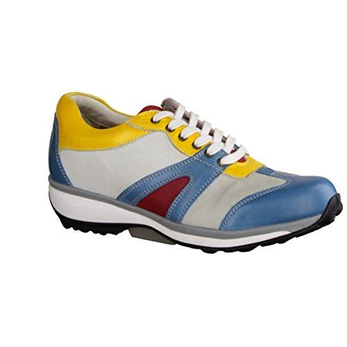 XSENSIBLE xsens ible Milano 300242656G di comode scarpe/senza lacci Scarpe e comodo tappetino antiscivolo per scarpe da donna, Multicolore, stretchleder