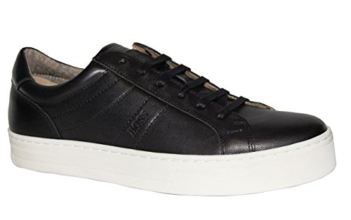Hugo Boss Sko Noir Tenn Ltws Svart 10197209 01 Size 8