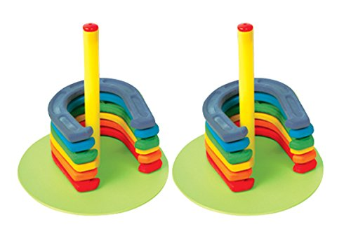Palos Sports Colored Rubber Horeshoe Safety Set by Palos Sports