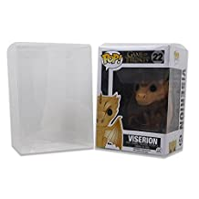 Galactic Toys Funko Pop Protector Case for 4-Inch Vinyl Figures - 100 Pack