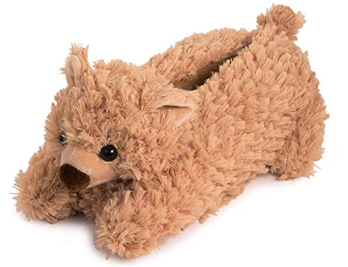 Lazy Paws Adult-Sized Teddy Bear Slippers (Size Medium Only)
