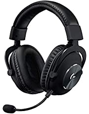 Logitech G PRO X (2e generatie) gaming-headset (met Blue VO!CE, DTS headphone: X 7.1 en PRO-G 50 mm luidsprekers, voor PC, PS4, Switch, Xbox One, VR) zwart
