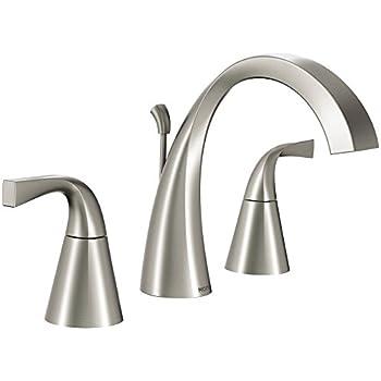 Moen 84661srn Universal 2 Handle Bathroom Faucet Spot