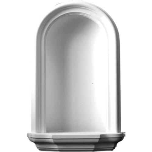 (Ekena Millwork NCH16X27TR Wall Niche Factory Primed White)