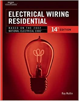 Admirable Electrical Wiring Residential Hc Ray C Mullin 9780766832855 Wiring Cloud Hisonuggs Outletorg