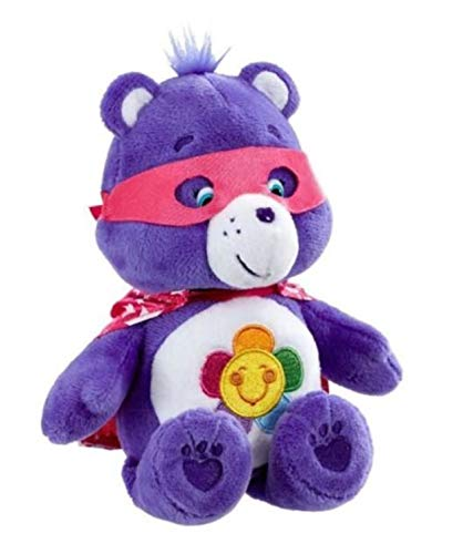 Care Bears Harmony Bear Super Hero Friends Beanie Bear 8