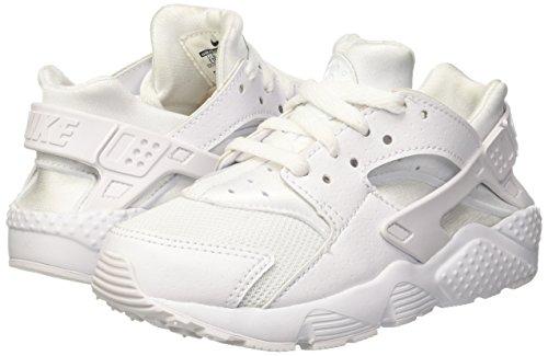 Nike Huarache Little Kids Running Shoes White/Pure Platinum 704949-110 (11.5 M US) by Nike (Image #5)