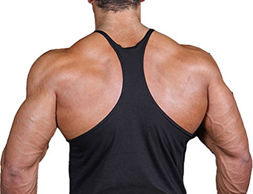ce99dcba8474e2 Meet Me At The Bar Bodybuilding Stringer Tank Top Y Back XS-2XL - Buy  Online in Oman.