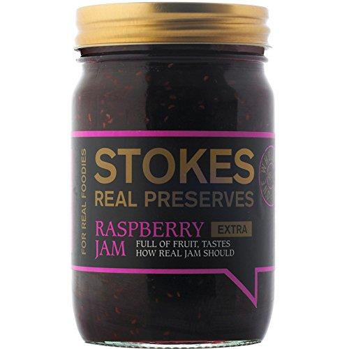 Stokes - Real Preserves - Raspberry Jam - 454g by Stokes