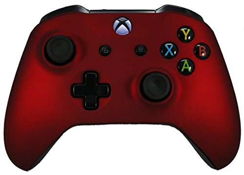 Xbox One Red Modded Rapid Fire Controller / Sniper Quick Scope / Drop Shot / Quick Aim / Zombies Auto Aim / Mimic / Burst / For Call of Duty / Modern Warfare / Black Ops / All Games / Soft Touch (Xbox 360 Modded Control)