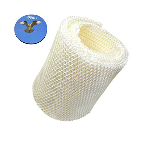 HQRP Wick Filter for Kenmore 144105, 144106, 144107, 144108, 144115, 144116, 144117, 144118 Humidifier + HQRP Coaster (Best Air Humidifier Filter Ef1)