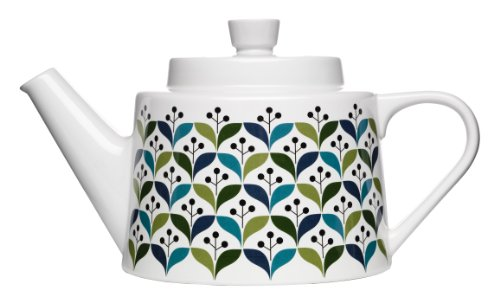 Sagaform #5015942 Stoneware Retro Tea Pot, 50-Ounce ()