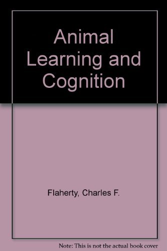 Animal Learning and Cognition. (= Alfred A. Knopf Series in Psychology).
