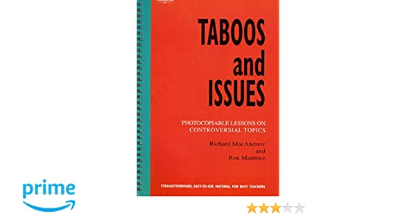 Taboos And Issues Pdf