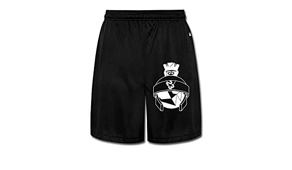 554f2cac860fa9 M07H Men s Unique Marvin The Martian Jordans Short Training Pants Black  Size M  6825902384348  Amazon.com  Books