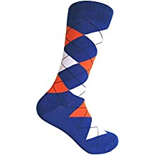Men's Groomsmen Wedding|Party Events|Gala Collection Argyle Dress socks