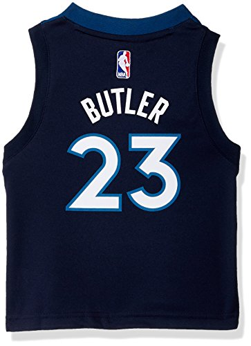 NBA Minnesota Timberwolves Children Boys Replica Road Player Jersey, 4T, Capital Blue