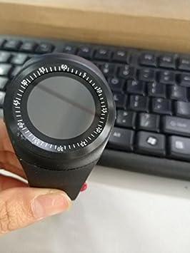 PinShang Reloj Inteligente Bluetooth Impermeable con Tarjeta SIM, múltiples Funciones Fuertes para teléfonos Inteligentes Android, Samsung, HTC, Sony, LG, ...