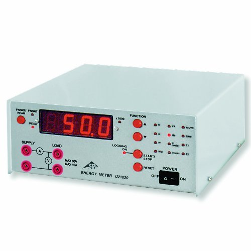 3B Scientific U21020-230 Power and Energy Meter with PC Interface, 230V by 3B Scientific