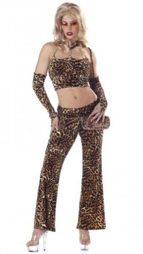 Fine Foxy Mama Adult Costume Medium dress size (Hoe Costume)