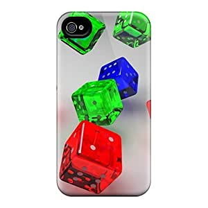 Awesome Case Cover/iphone 4/4s Defender Case Cover(dice 23)
