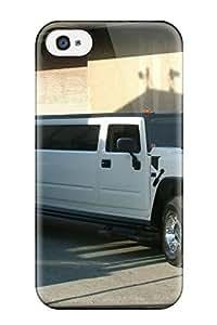 New Premium Flip Case Cover Hummer Car Skin Case For Iphone 4/4s