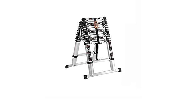 ZCF Escaleras de mano Las Escaleras Telescópicas de Aluminio, Extensión Escalera Plegable Multiuso Antideslizante Escalera Plegable para El Hogar O Ingeniería (Size : Style3): Amazon.es: Bricolaje y herramientas