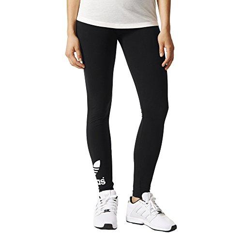 adidas Originals Women's Trefoil Leggings, Medium, Black