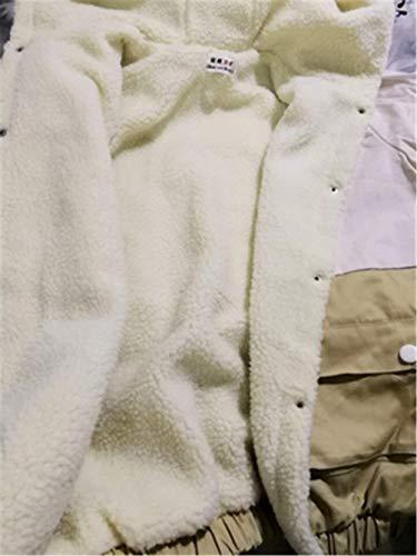 Cazadoras Señoras Elegante Grandes De Boyfriend Temporada Anchos Mujer Khaki Chaqueta Abrigos Chaqueta Corto Abrigos Casual Otoño Abrigos Modernas Outwear Huixin Tallas S7wCqS
