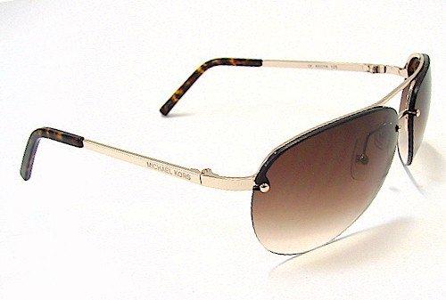 ce79a516fe48 MICHAEL KORS M2001S Sunglasses 2001S Shiny Gold 717 Shades: Amazon.co.uk:  Clothing