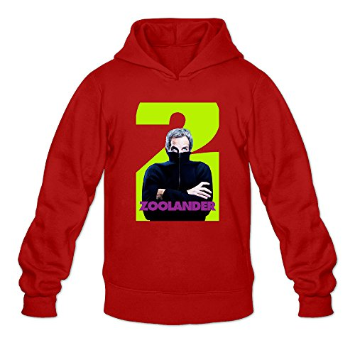 Chris-T Zoolander 2 Men's Long Sleeve Jacket Red US Size -