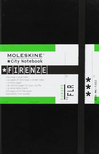 City Notebook Firenze [Lingua Inglese]