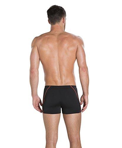 3b3dcf4ea2 Speedo Men's Endurance+ Polyester Solid Square Leg Swimsuit (42, ...