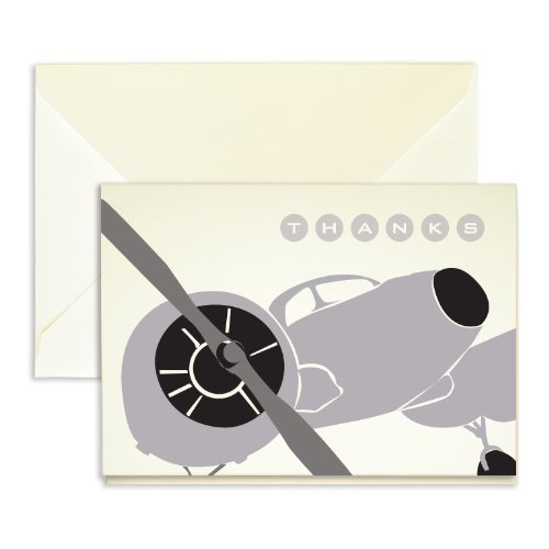 (Plane Thank You Cards - Pack of 25-5